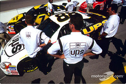 Getting ready for the race: Dale Jarrett