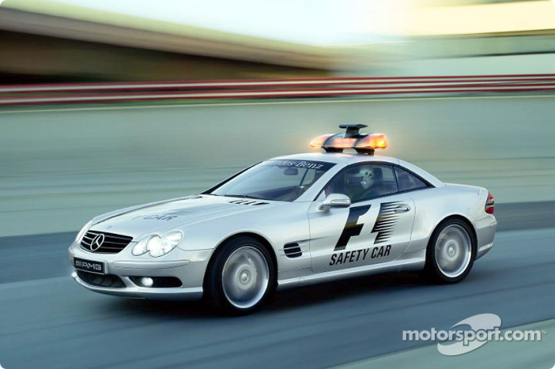 The new Mercedes-Benz CL 55 AMG Safety Car