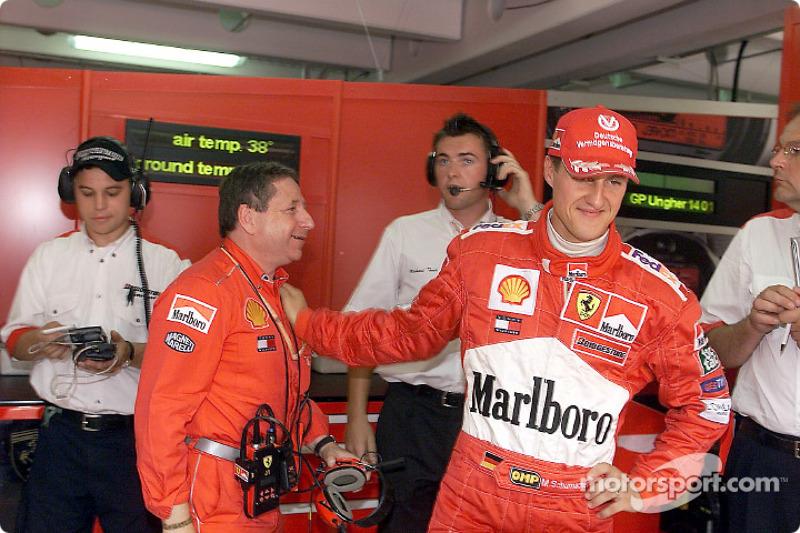 #41 GP de Hongrie 2001 (Ferrari F2001)