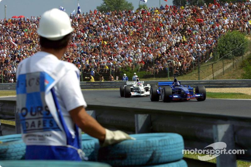 Heinz-Harald Frentzen and Jacques Villeneuve