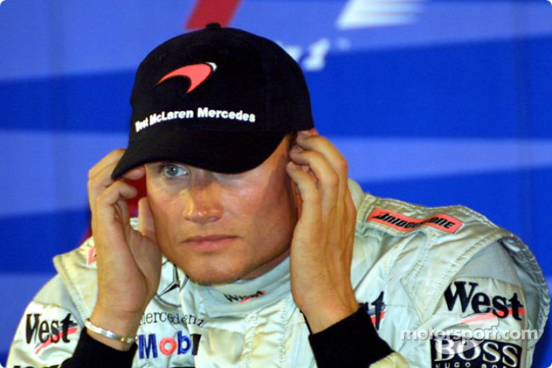 Saturday press conference: David Coulthard