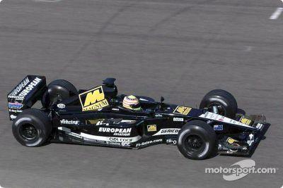 Sesión de prueba de Minardi en agosto
