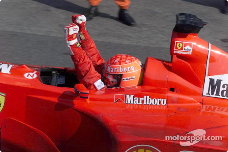 Michael Schumacher lors du GP d'Italie
