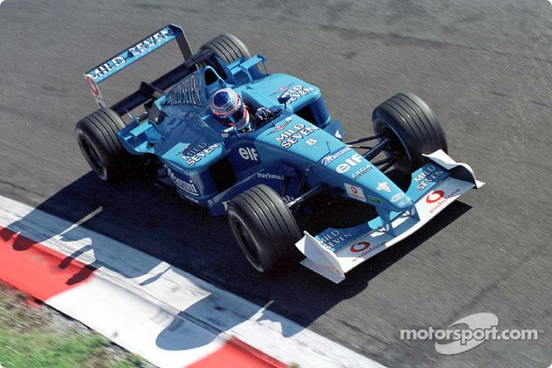 Jenson Button au GP d'Italie