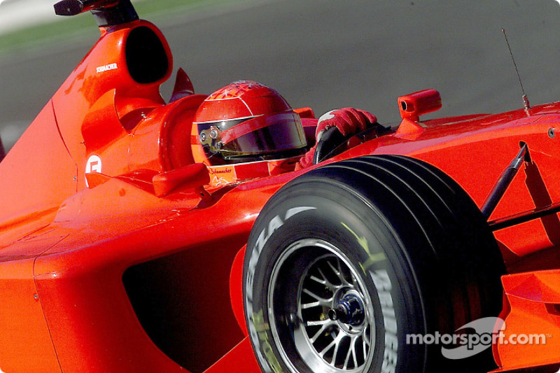 2001: Формула 1 в Монці