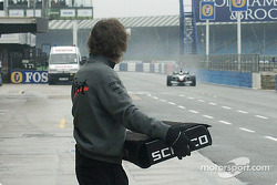 A rainy day at Silverstone