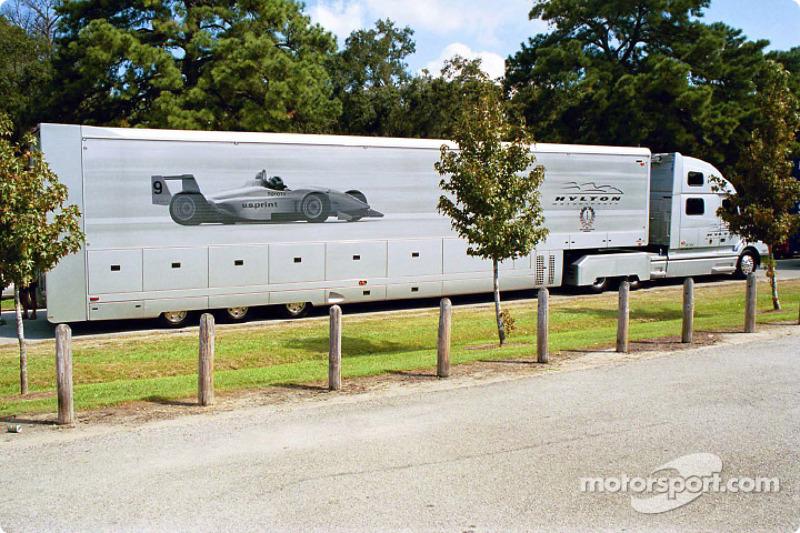 Hylton Motorsports transporter