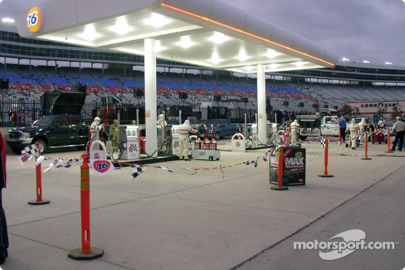 Fuel area race ready