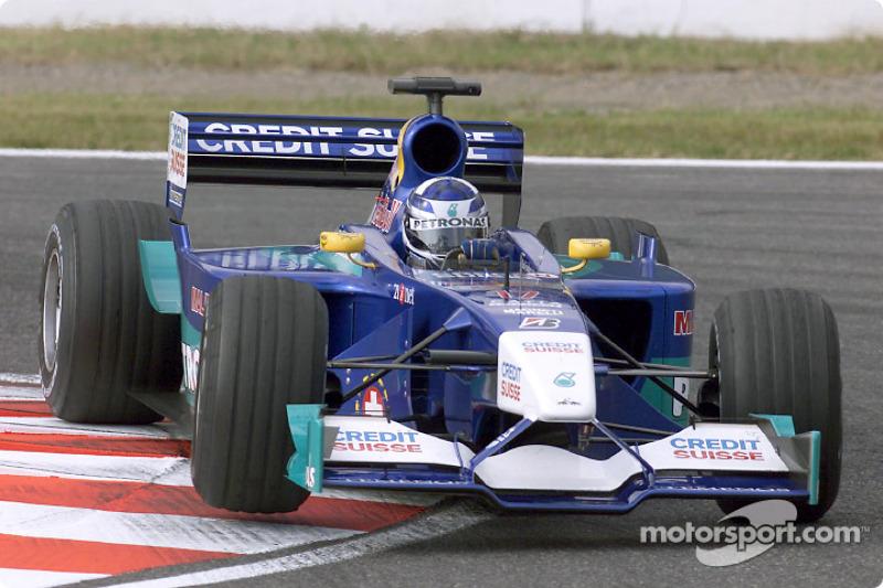 2001: Sauber-Ferrari C20