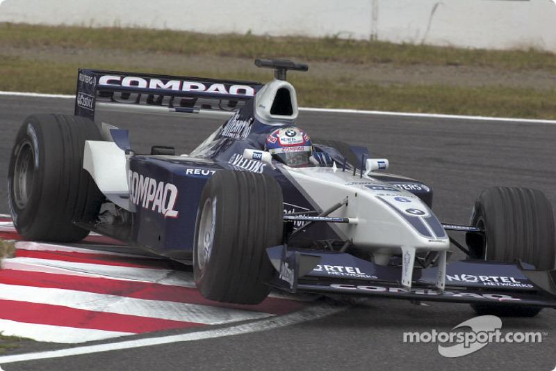 2001 год: Хуан-Пабло Монтойя, Williams FW23 BMW