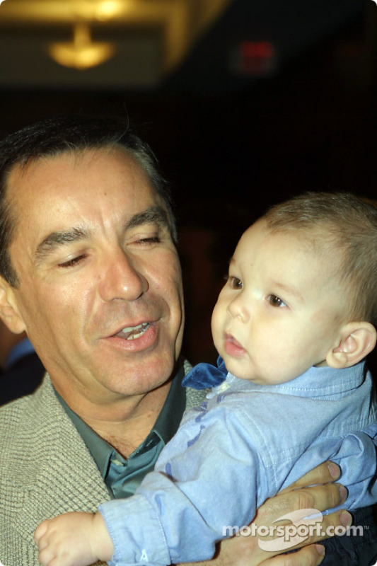 Eliseo Salazar with son, Eliseo VI