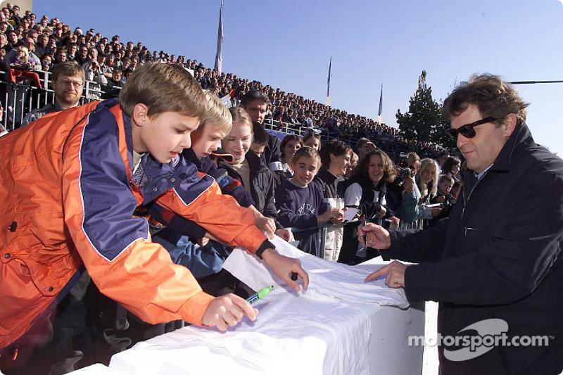Mercedes-Benz Motorsport Director Norbert Haug