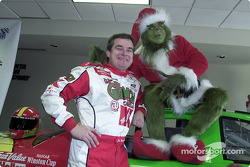 Joe Nemechek was annouced as the driver of the Carter/Haas Racing number 26 Ford for the 2002 Winston Cup Season; Nemechek was joined at the press conference by The Grinch as the team is running a special The Grinch Who Stole Christmas paint scheme