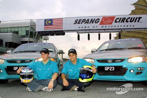 Team Sauber en Malaysia