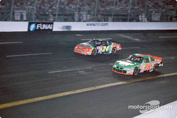 Bobby Labonte and Jeff Gordon