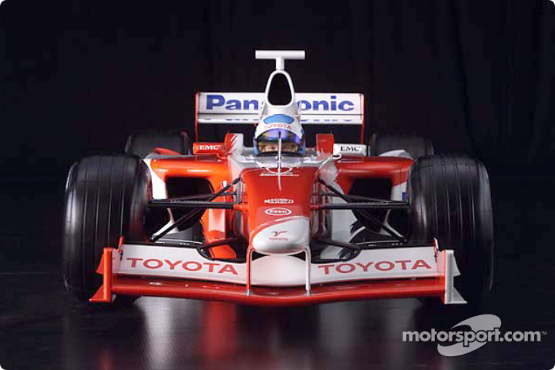 Mika Salo 2001 Toyota Formula 1 TF102