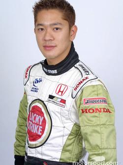 Le pilote d'essais Ryo Fukuda