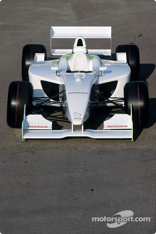 The new Super Nissan Dallara V6 3 litre single seater