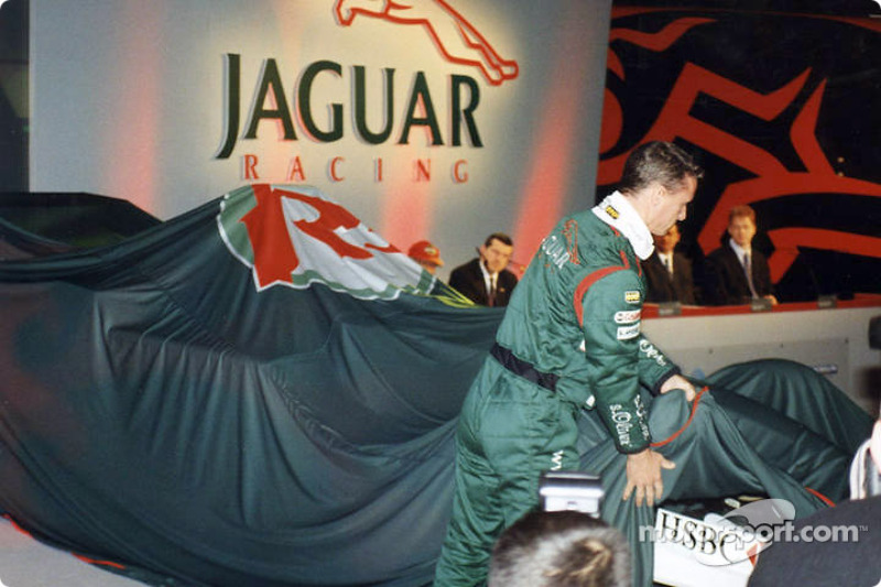 Unveiling the car