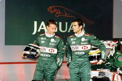 Eddie Irvine et Pedro de la Rosa