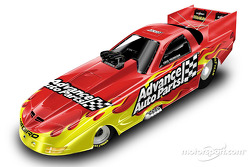 Presentation of the 2002 Advance Auto Parts Cruz Pedregon Funny Car