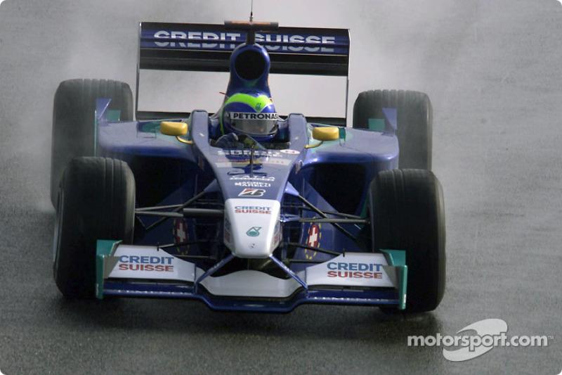 2002: Sauber C21 - 4 puan, şampiyonayı 13. sırada bitirdi
