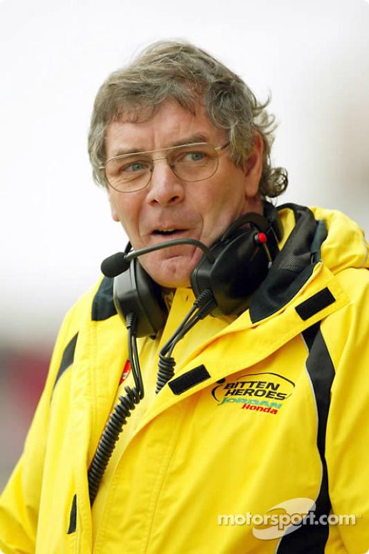 Gary Anderson, directeur de course et des essais de Jordan