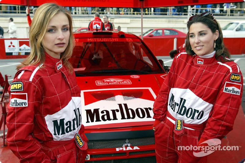 The charming Marlboro hostesses