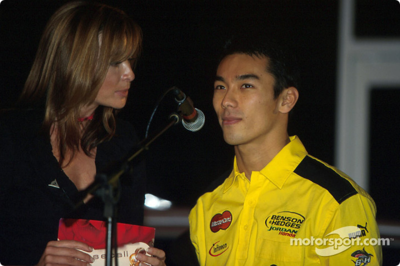 Interview with Takuma Sato