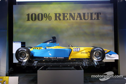 The new 2002 Mild Seven Renault F1 R202