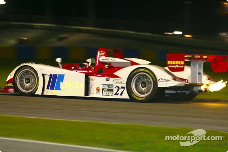 Jud Dallara n°27 à la nuit tombante