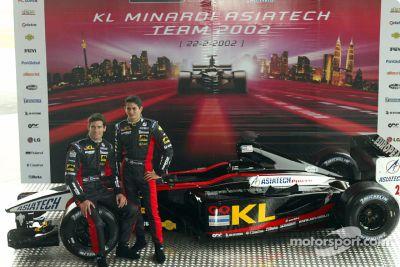 Présentation de la Minardi Asiatech PS02