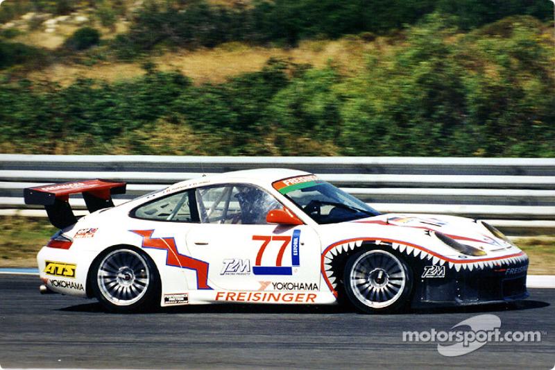 The GT Class winning car of Pompidou and Dumas