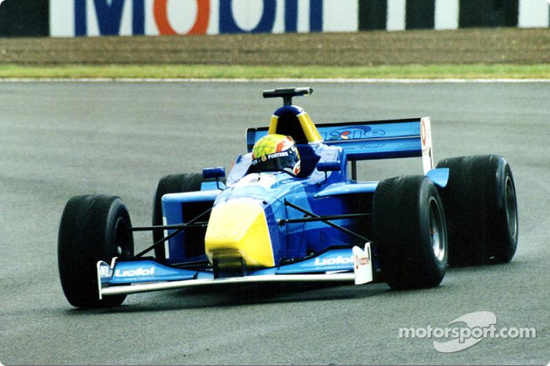 2000 und 2001: Formel 3000
