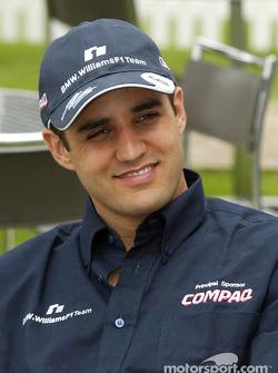 Compaq driver day: Juan Pablo Montoya