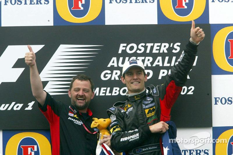 2002 - Debut en Fórmula 1