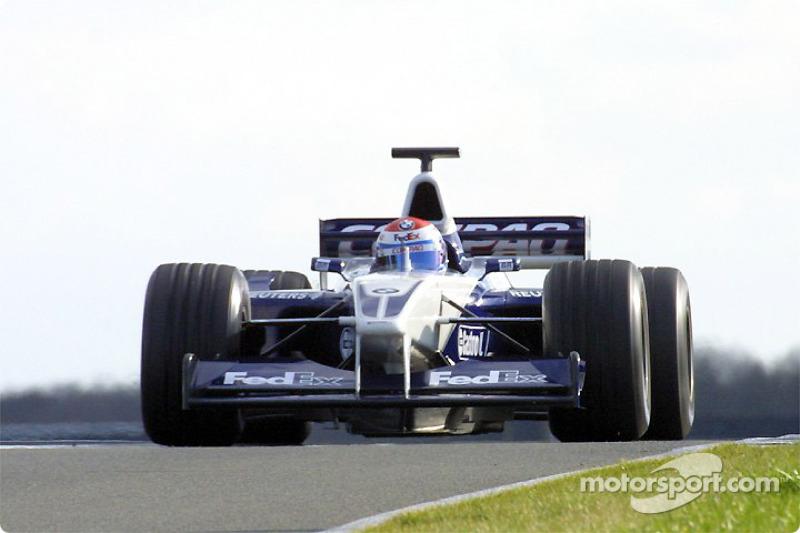 Марк Жене, Williams, 2002 год