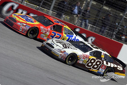 Ricky Craven and Dale Jarrett