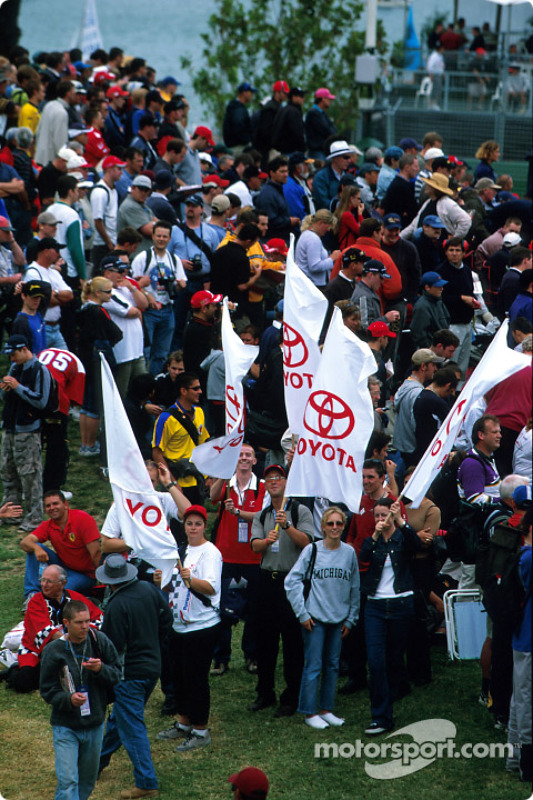 Toyota fans