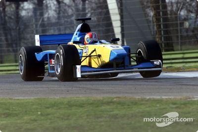 Essais de la F3000 de 2002