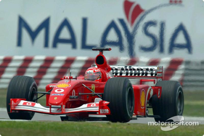 2002 Malezya - Ferrari F2002