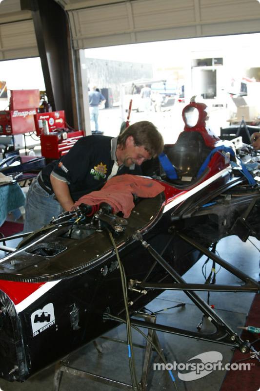 Brayton Racing garage area