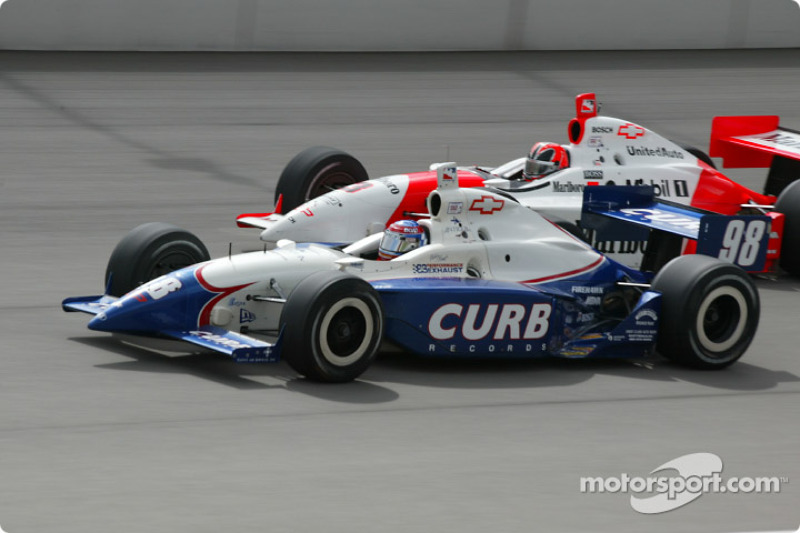 Billy Boat and Helio Castroneves