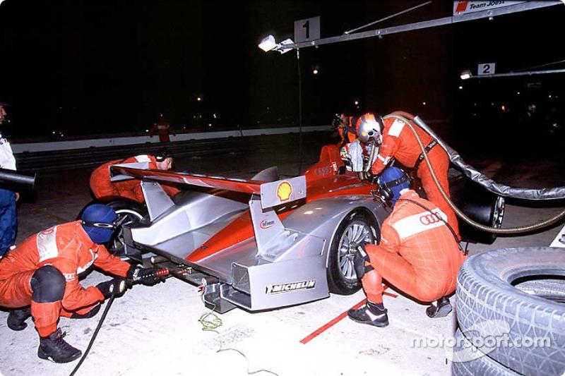 Pitstop at Audi Sport North America