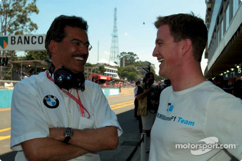 Dr Mario Theissen et Ralf Schumacher