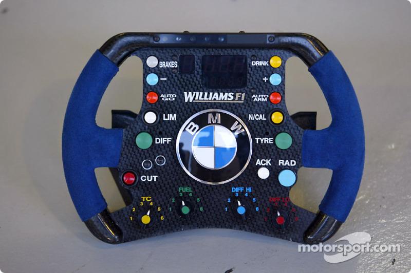 Williams F1 steering wheel