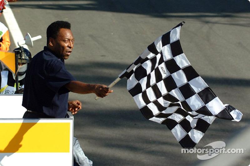 GP de Brasil 2002 : 'O Rei' no reacciona