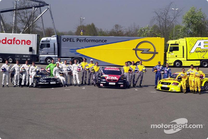 Los 21 pilotos del 2002 DTM