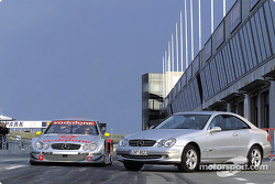 The new Mercedes-Benz CLK-DTM and its production counterpart