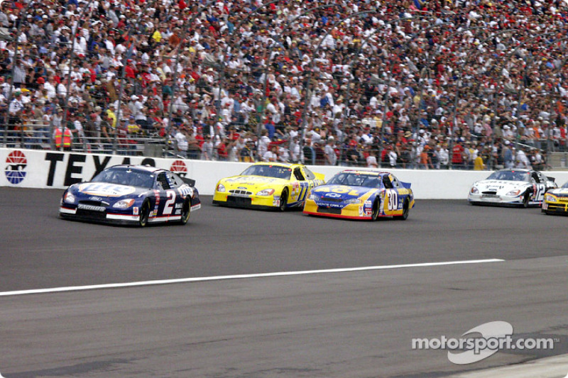 Rusty Wallace, Jeff Green y Dave Blaney